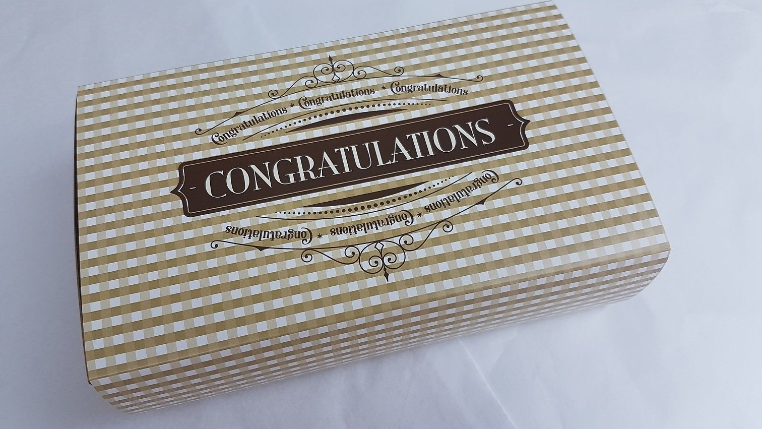 Congratulations Gower Cottage Brownies