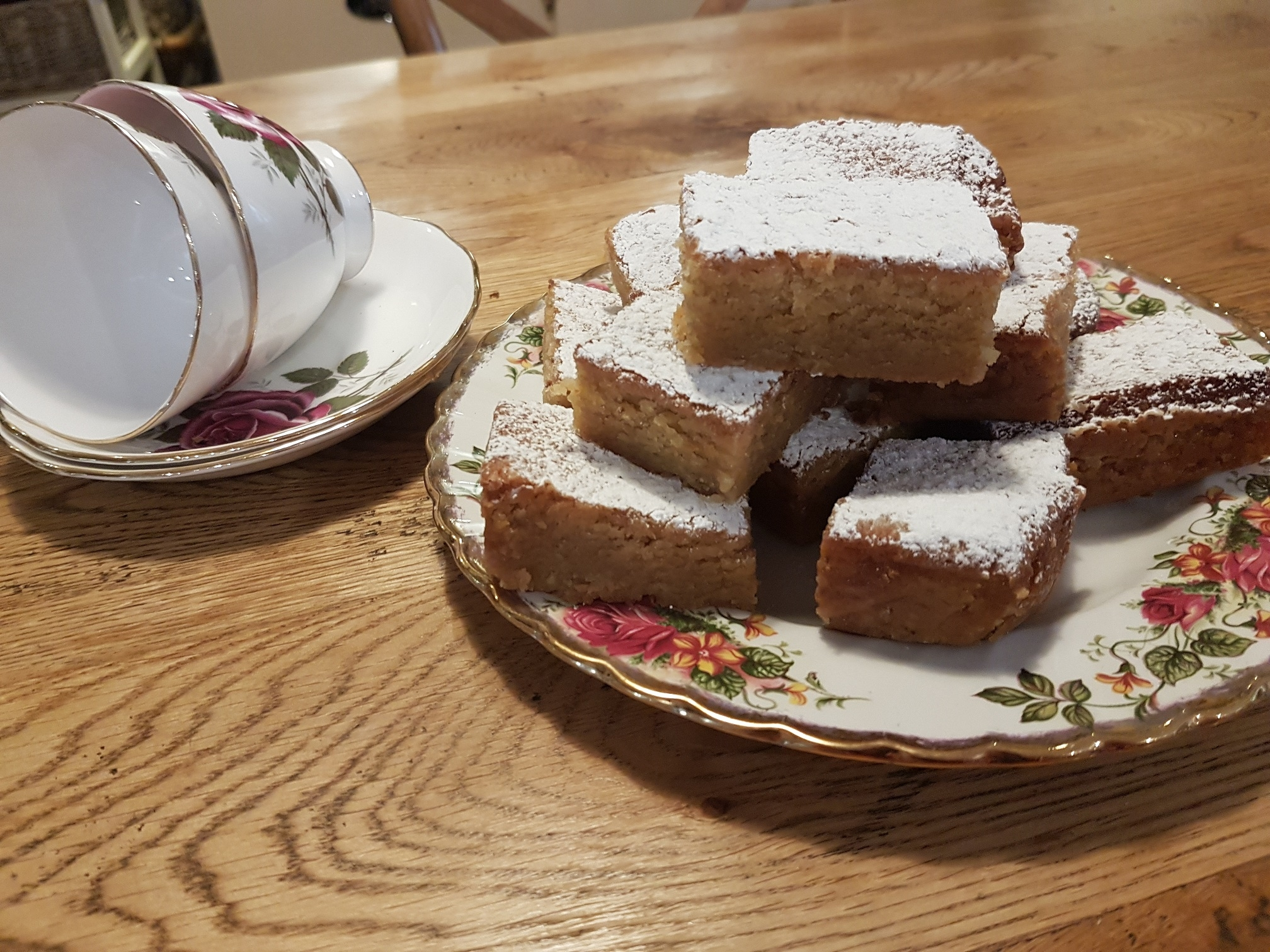Gower Cottage Blondies