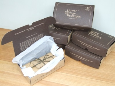 Gower Cottage Brownies with Walnuts (6 Month Subscription) + Free Gift