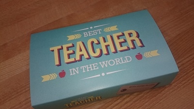 Best Teacher Gower Cottage Brownies