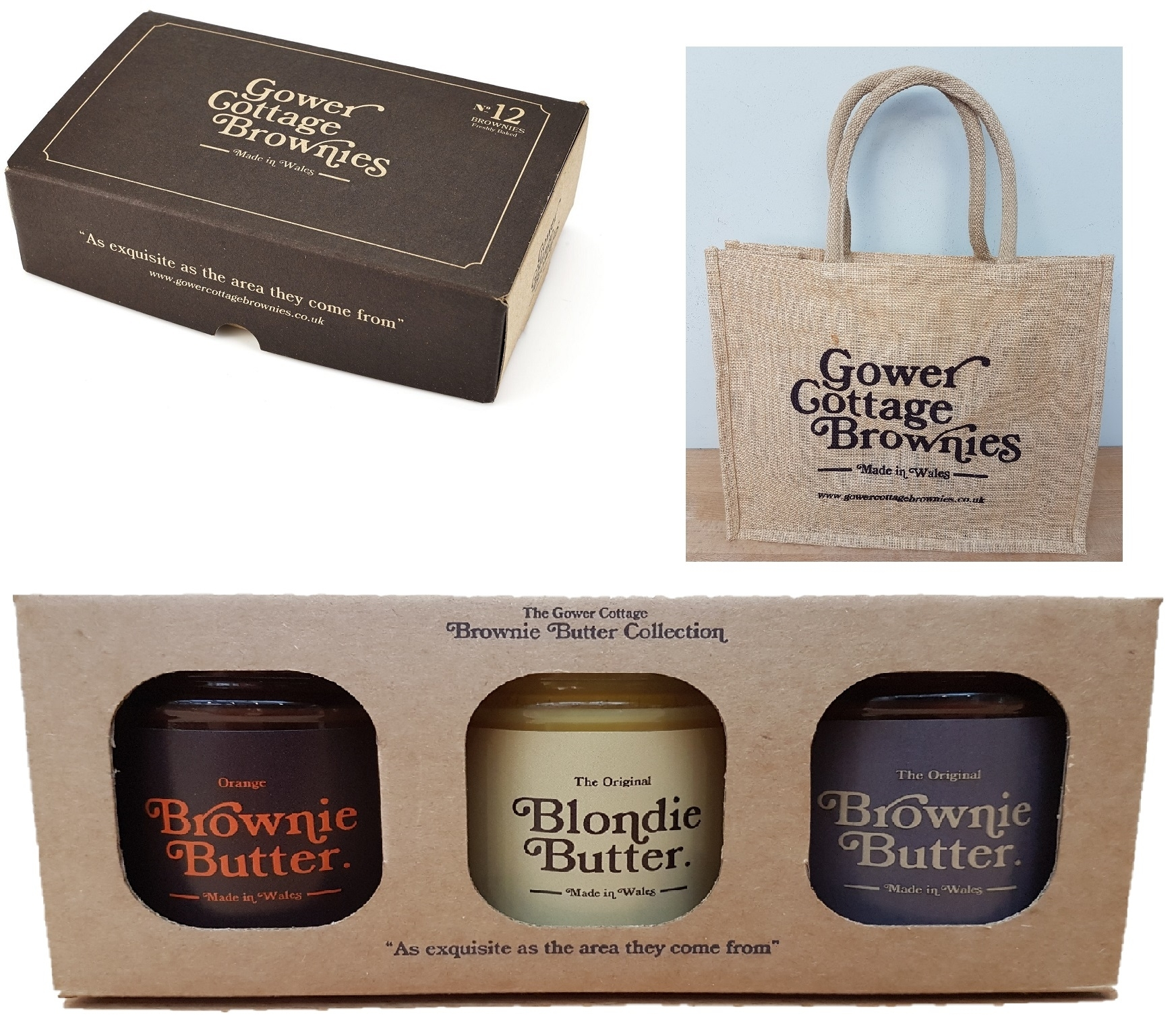 Mother's Day Brownies Gift set