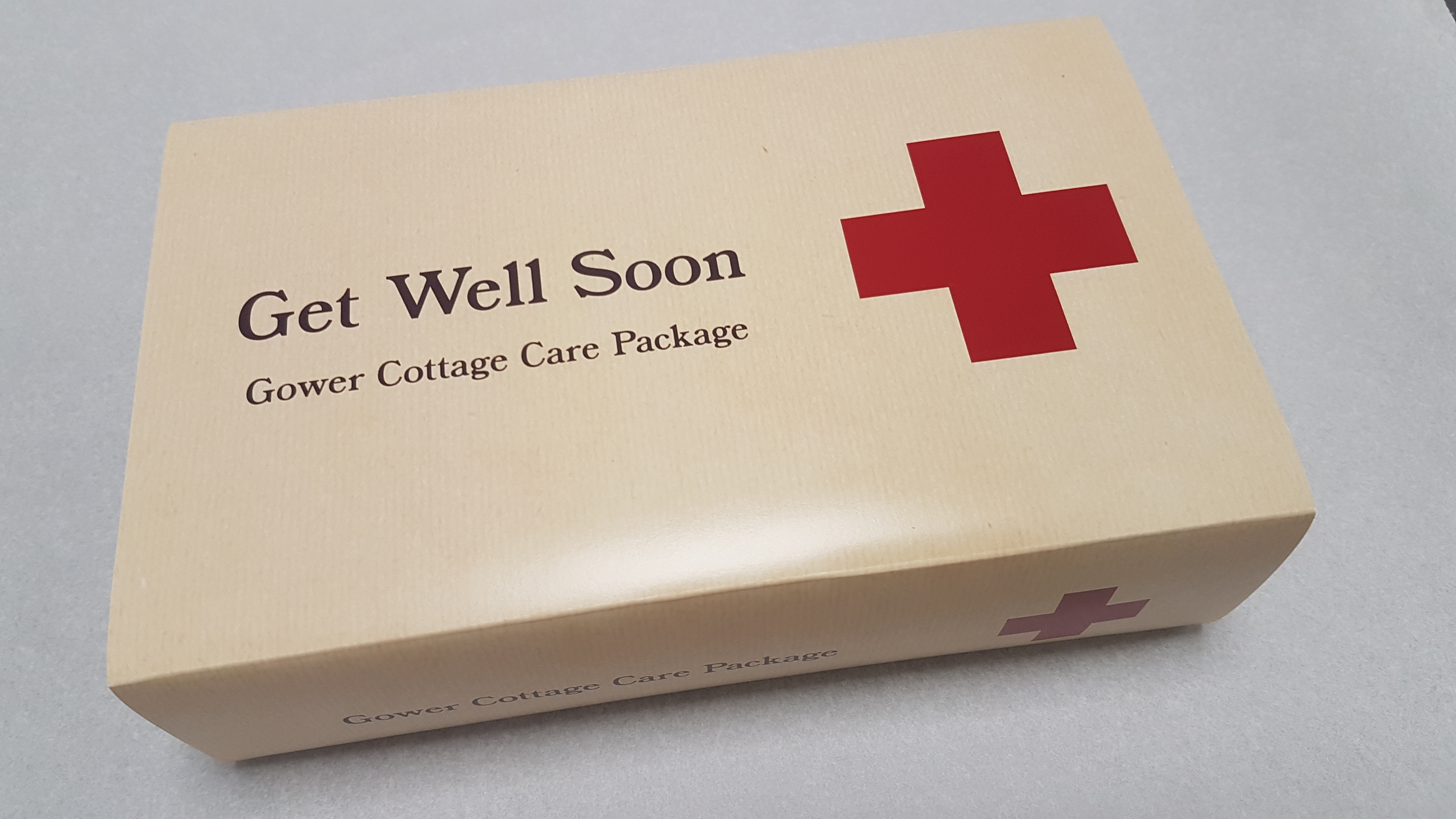 Get Well Soon Gower Cottage Brownies