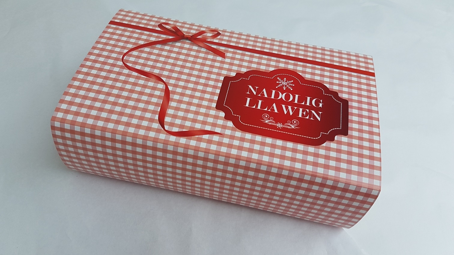 Nadolig Llawen Brownies Bwthyn Gwyr (Merry Christmas)