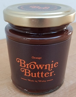 Orange Brownie Butter