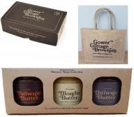 Valentines Brownies Gift set