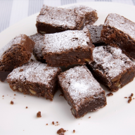 Gower Cottage Brownies with Walnuts