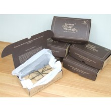 Gower Cottage Brownies with Hazelnuts (6 Month Subscription) + Free Gift