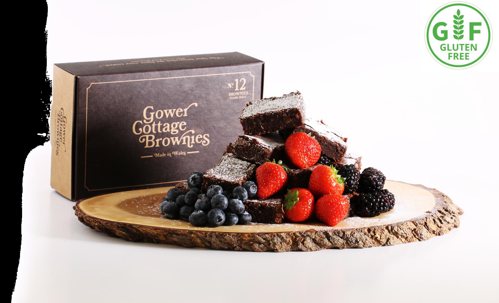 Gluten Free Gower Cottage Brownies