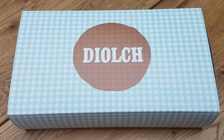 Diolch Brownies Bwthyn Gwyr (Thank you)