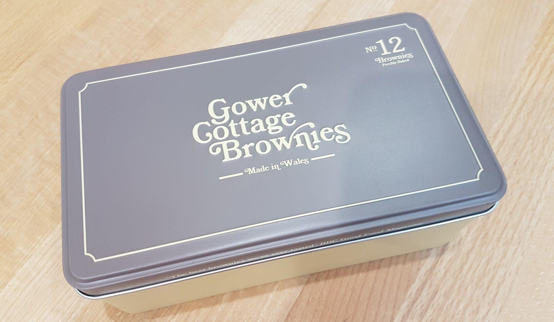 Mixed Blondie/Brownie in a presentation tin