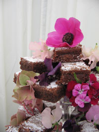 Wedding Brownies