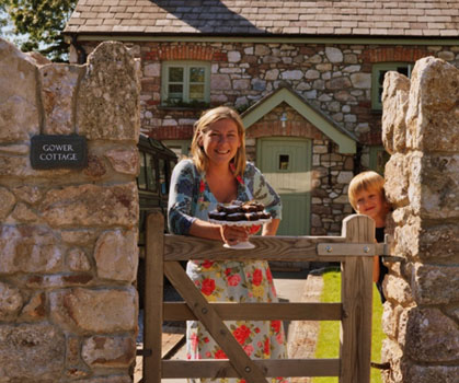 Kate at Gower Cottage