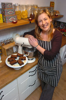 kate with kitchenaid