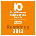 Observer award 2013